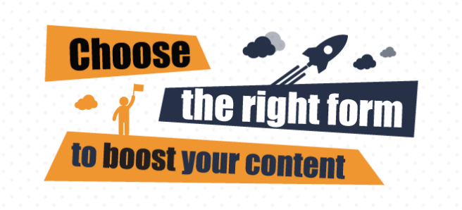 choose the right content for your content